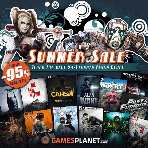 Gamesplanet Summersale Tag 6 - Steam / Origin Games zum Toppreis!