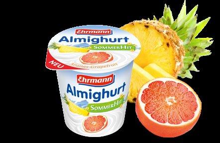 [ LIDL / bundesweit ] Almighurt von Ehrmann vom 27. 7. bis 1. 8. 2015 um ca. 50% reduziert
