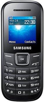 Samsung E1200 Handy für Notfälle bestens geeignet.