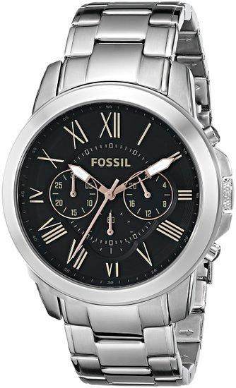 [uhr-shop.de] Fossil Grant FS4994 Herren Edelstahl-Chronograph für 77,50€ incl.Versand!