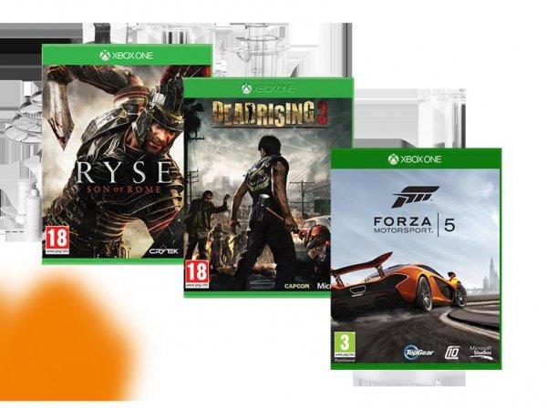 [Saturn Österreich] Ryse: Son of Rome [Xbox One]***Dead Rising 3 [Xbox One]****Forza Motorsport 5 [Xbox One] für je 13,-€ + 7,-€ Versand...NUR HEUTE