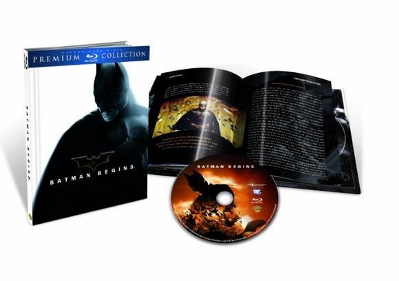 Batman Begins - Premium Collection - (Blu-ray) für 4,99€ @Saturn.de