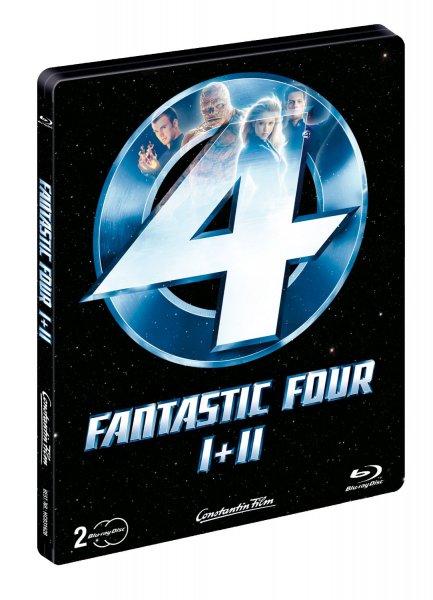 Fantastic Four 1 + 2 (Steelbook) [Blu-ray] [Limited Edition] für 18,99€ @Saturn.de