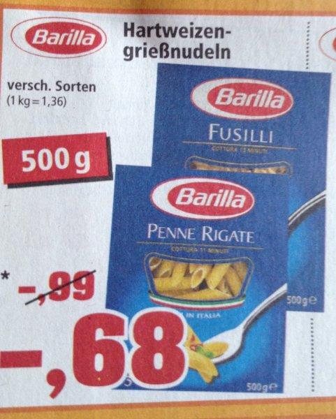 ThomasPhilipps Barilla Nudeln 500 gr für 0,68 Euro