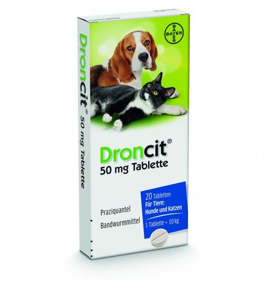Wucher beim Tierarzt? Wurmkur für Hunde und Katzen Droncit 54,89€ 20St.