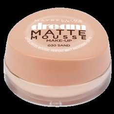 (Rossmann Bundesweit!) Maybelline New York Dream Matte Mousse Make-Up für 3,47€ statt 6,95€ mit dem Maybelline Coupon!