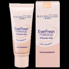 (Rossmann Bundesweit!) Maybelline New York EverFresh Make-up 2,84 statt 5,95€ mit dem Maybelline Coupon!