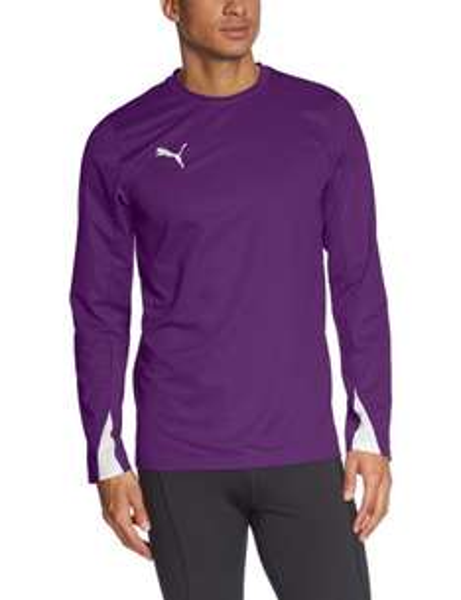 PUMA Herren Langarmshirt / Größe XL / Farbe: Team Violet-white / Preis: EUR 6,58 zzgl. Versand / @Amazon