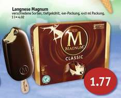 [Sky Nord] Langnese Magnum Multipack Eis für 1,77 € (Angebot 27.07. - 01.08.2015)