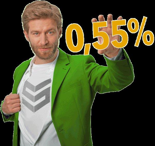 Kredit mit Gewinn @ SMAVA - 1500€ für 36 Monate mit 0,55% Zinsen und 150€ Amazon Gutschein