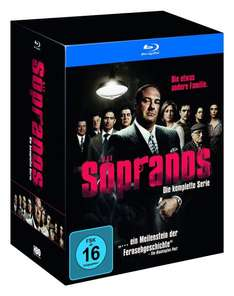 (amazon.de) Sopranos - Die komplette Serie (exklusiv bei Amazon.de) [Blu-ray] [Limited Edition] für 76,97€