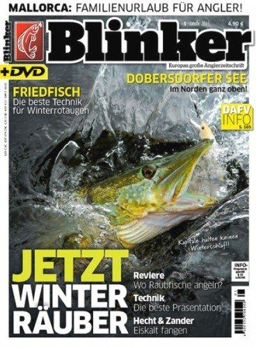 """Jahresabo """"Blinker"""" (inkl. DVD) für 62,40€ mit 50,00€ Verrechnungsscheck - Effektivpreis: 12,40€"""