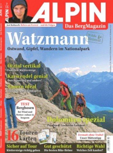 """Jahresabo: """"Alpin"""" für 62,90€ mit 50,00€ Verrechnungsscheck - Effektivpreis: 12,90€"""