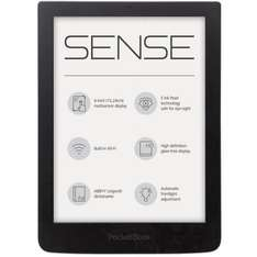 PocketBook Sense Dunkel-Grau - eBook-Reader - Conrad