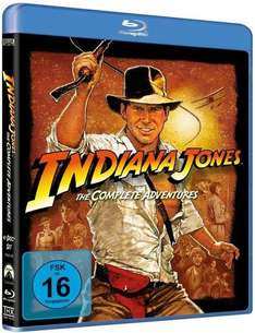 [Thalia] Indiana Jones The Complete Adventures 1-4 auf Blu-Ray für 20 Euro