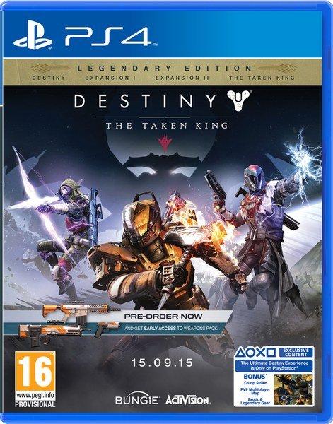 zavvi.de - Destiny - König der Besessenen (Vorbestellung) PS4/XBOX One / Preis inkl. Versand: 54,86 € (druch 10% Gutschein) / Vergleichspreis: 63,90 €