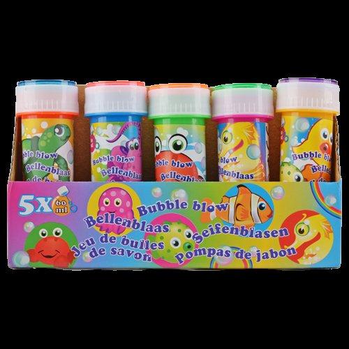 (Action) Seifenblasen 5x60ml ver.Farben für nur 0,99€