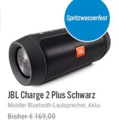 JBL Charge 2+ plus BT-Speaker Schwarz @ NBB 144,89€