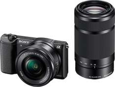 Sony Alpha 5100 Kit 16-50 mm + 55-210 mm für 565€ @Amazon.fr