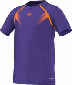adidas Performance / Samba Trainingsshirt Kinder / Größen 116, 128, 164 / Farbe: blast purple (lila)
