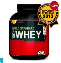 4,5kg 100% Optimum Nutrition Whey Gold für €79,17 inkl. VSK @vitafy