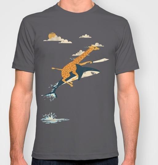 Society6: HEUTE kostenlose Lieferung weltweit, z.B. Herren T-Shirt für 20€