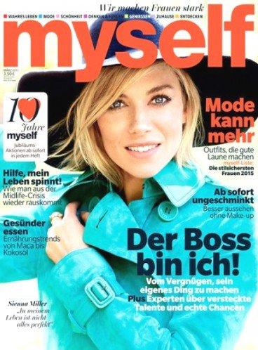 """3x Zeitschrift """"myself"""" für 7,50€ inkl. 10€ Amazon Gutschein, Effektiv: -2,50€"""