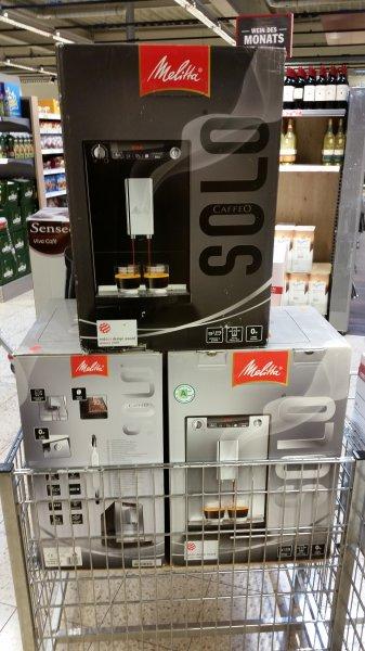 [Lokal Bonn] Melitta Kaffeevollautomat Caffeo Solo bei HIT für 200,00