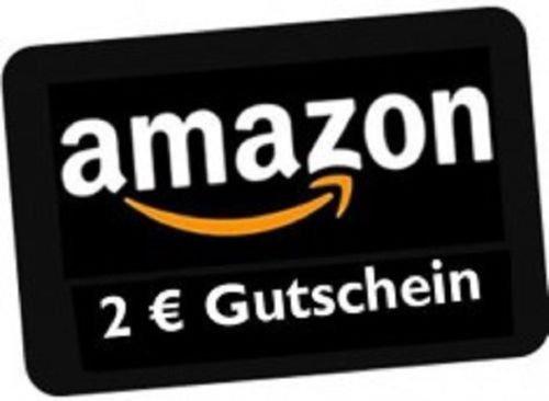 Amazon Gutschein Geschenkgutschein im Wert von 2 Euro für 1,50 Euro
