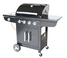 Outdoorchef DKB BRONCO 4G + Gasgrill in Schwarz