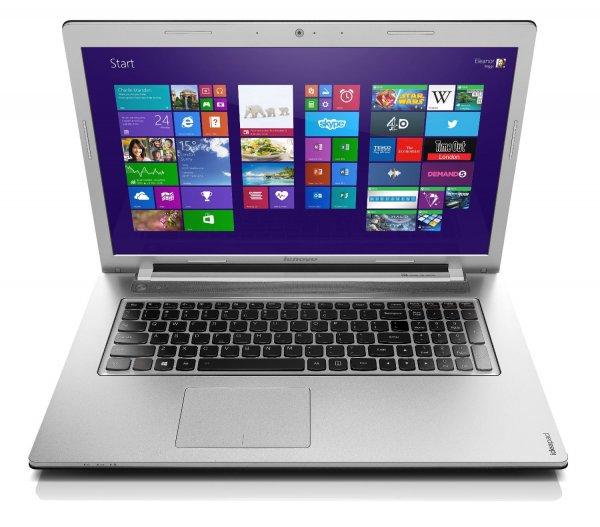 """Lenovo IdeaPad Z710 - Core i5-4210M, GeForce 840M, 8GB RAM, 1000GB SSHD, 17,3"""" Full-HD, beleuchtete Tastatur, Win 8.1 - 599€ @ Cyberport.de"""