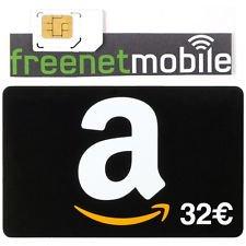 32€ amazon Gutschein für klarmobile duo Simkarte 390€