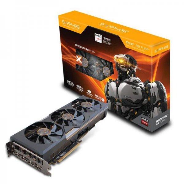 SAPPHIRE AMD Radeon R9 FURY OC TRI-X @ZackZack