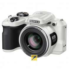 Fujifilm FinePix S8600 Super Zoom Bridge Kamera, 16 Megapixel, 36x opt. Zoom Weiß