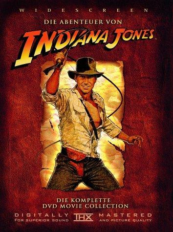 (Amazon.de-Prime-WHD) Indiana Jones 1+2+3+Extras DVD im Zustand Wie Neu für 3,22€