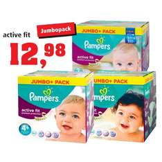 [THOMAS PHILIPPS]KW32: Pampers Active Fit Jumbo + Gr. 3/4/4+ für 12,98€ (03.-08.08.15 - Keine Coupons!)