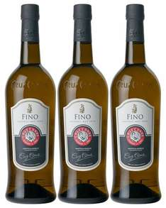 Amazon Prime : Cruz Conde Sherry Fino Natural Muy Seco (3 x 0.75 l ) Nur 8,88 € statt 26,70 €