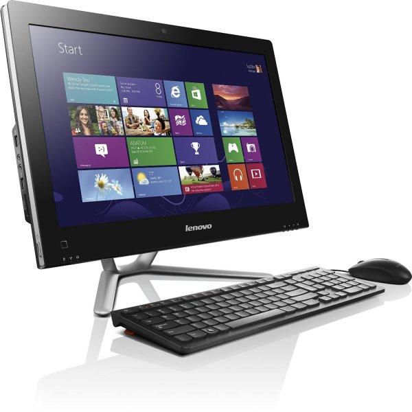 Lenovo C455 54,61 cm (21,5 Zoll FHD LED) All-in-One Desktop-PC (AMD A8, 2,4 GHz, 8GB RAM, 500GB HDD, Win8.1) schwarz für 469 €@Amazon