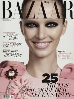 """5 Ausgaben: Zeitschrift """"Bazaar""""   mit Scheckprämie"""