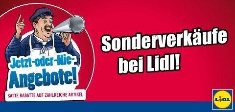[Fürth] LIDL Sonderverkauf FR 31.7. und SA 1.8.