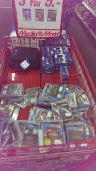 3 PS3 Spiele für 5€ (1,67€ pro Spiel) im Media Markt Koblenz