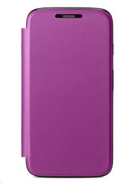 Motorola Flip Shell Violet für Moto G