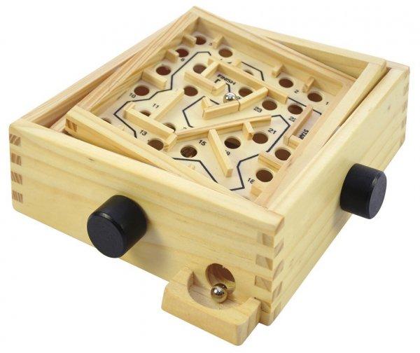[Amazon-Prime] Eduplay Holz Labyrinth klein mit 2 Kugeln