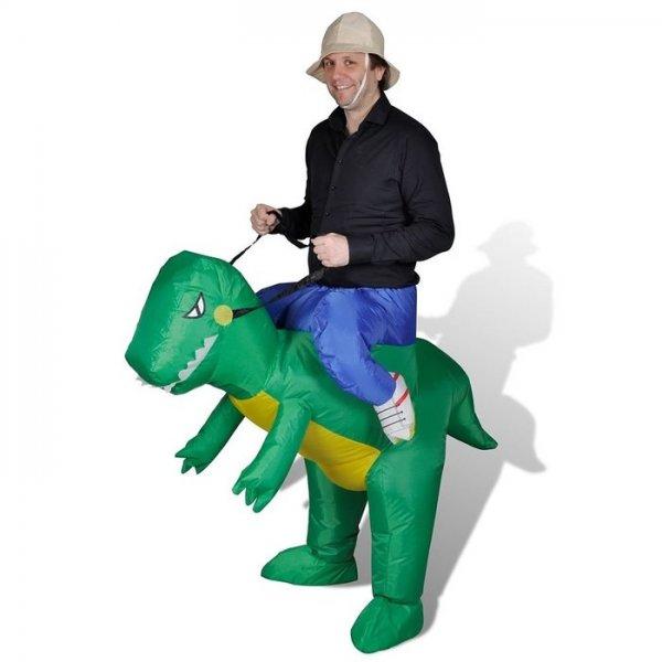 [Amazon] Aufblasbares Dinosaurier Kostüm für echte Mydealzer,Festival,Halloween,...
