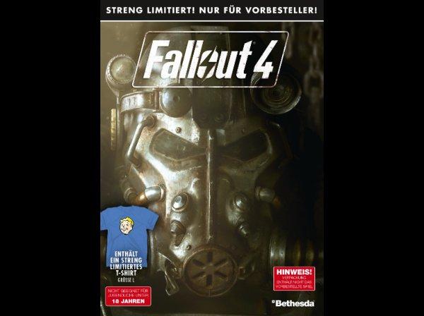[SATURN]Fallout 4 Vorverkaufsbox inkl. T-Shirt