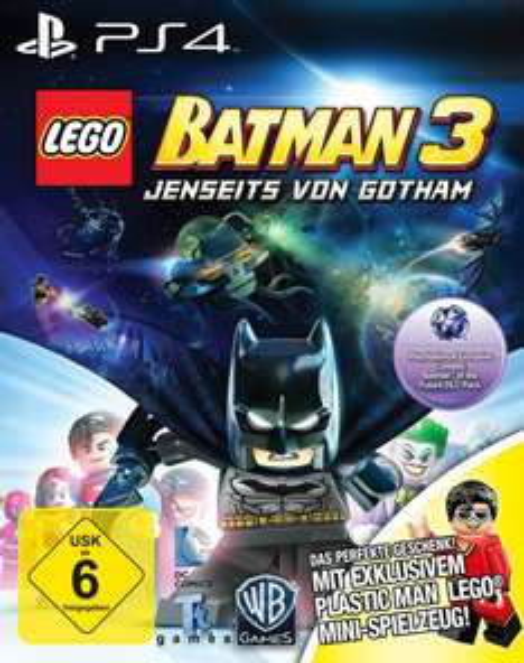 [amazon] LEGO Batman 3 - Jenseits von Gotham - Special Edition PS4 inkl. Figur