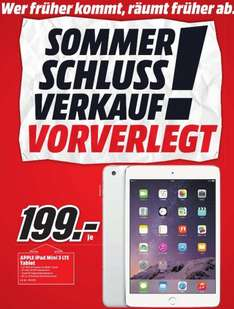 Apple Ipad Mini 3 LTE (Lokal: Media Markt Bad Dürrheim)