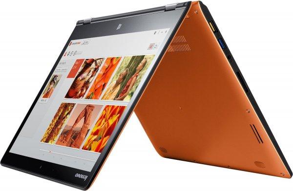 Lenovo Yoga 3-14 2in1 Touch Convertible Ultrabook (Intel Core i5-5200U, 2,7GHz, 4GB RAM, 128GB SSD, Intel HD 5500 Graphics, Touchscreen, Win 8.1) clementine orange für 669 EUR bei Amazon.de