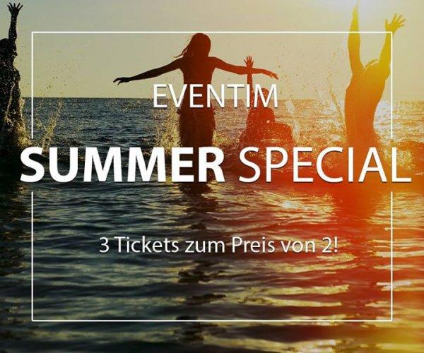 """Eventim Sommer-Special """"Kaufe 3 Tickets, bezahle 2"""" u.a. für Rock Im Sektor und Rock'N'Heim!"""