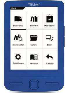 "[Ebay.de] TrekStor eBook Reader Pyrus Mini Blau Display-Größe 10.9 cm (4.3"") 2GB Speicher ab 24,90€"
